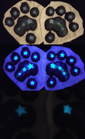 Starry Night Pawpads by Monoyasha