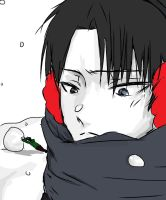 Levi and Eren In the BackGround by xXxPentaGramxXx