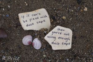 Duct Tape Will Solve All Our Problems by Rhiallom