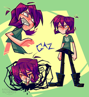 Comic Gaz by Krooked-Glasses