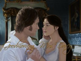 Mr and Mrs Darcy by SPRSPRsDigitalArt