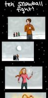 HP - Snowball fight. by Until-The-Dark