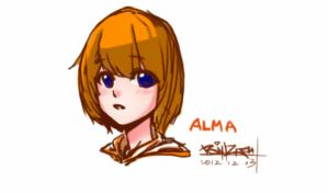 Alma - with Setchbook Pro X for Android by ErMaoWu