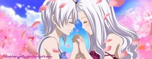 Fairy Tail- Lisanna and Mirajane by BlackBerryJelly