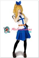 Fairy Tail Lucy Cosplay by miccostumes