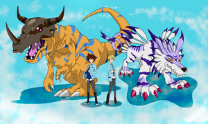 Digimon Adventure Tri by SrtaZeta