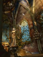 Greeting The Sun: Chapel by NightsongWS