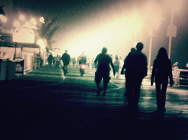 Strangers In the Night by piandaoist