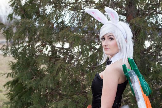 Battle Bunny Riven by mkparksphotography