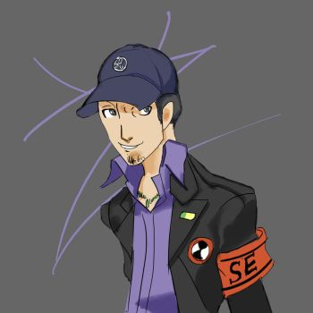 Junpei P3 by Zalyas