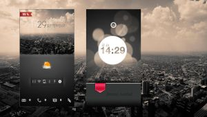 Galaxy S3 Simple City by LiFeSII