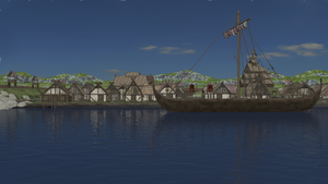 Viking Village by Vaskania