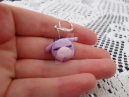Cat Cow Earrings Close up by DraconianRain