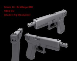 Glock 18 by redroguexiii