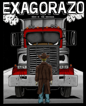 EXAGORAZO Issue1, Cover by Skull-Ink