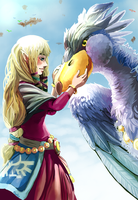 TLoZ: Skyward Sword II - Rise Harder by Fiuefey