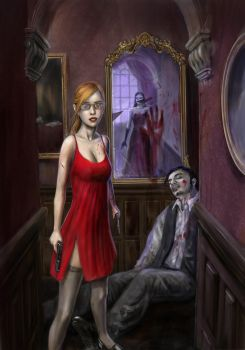 Kiss Me Deadly 2 - cover art by RomanovMT