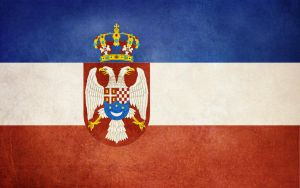 Grunge Flag-Kingdom of Yugoslavia by Djole09