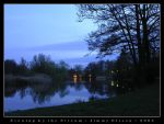 Evening by the Stream by J-i-m-p-a