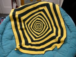 Packers Baby Blanket by Rose-Vicious