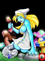 Smurfette by the-trio