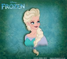 Frozen - The Ice Queen by lukasgamma