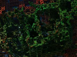 City Rotten to the core by FractalEdi