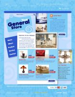 General Store Website by kn33cow