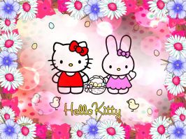 Hello Kitty Wallpaper 33 by Blood-Soaked