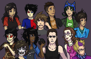 Humanstuck by Ansemaru