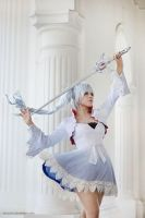 RWBY - Weiss by vaxzone
