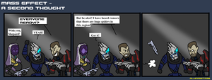 Mass effect - A second thought by Finjix