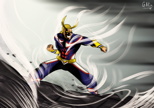 BECAUSE I AM THE SYMBOL OF PEACE! - ALL MIGHT by Bekuta