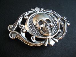 Deadmans belt buckle by flintlockprivateer