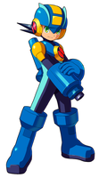 Megaman.EXE by ultimatemaverickx