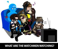 What Are The Watchmen Watching by inneryoung