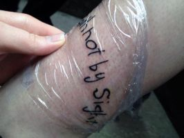 6th Tattoo (Right Side) by Vibrace