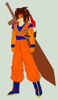Crash Bandicoot in Goku's Clothes by Pyrus-Leonidas