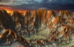 Distant Canyon by Fraqenstien