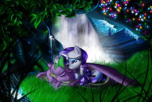 Our Time To Fly - Aqua's Cave by JennerDarkclaw