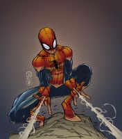 Spiderman by AlonsoEspinoza