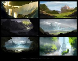 Speedpaints April 22 by Spex84