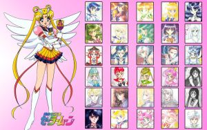Sailor Moon's Good Senshi by simsim2212