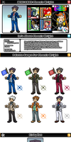 Newcomer Phoenix Wright by evilwaluigi