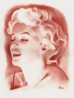 Red Marilyn by Stanbos
