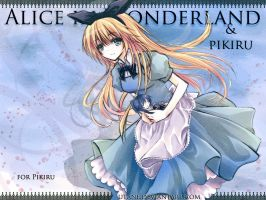 Alice in Wonderland For Pikiru by Utane