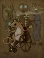 Wheel Mouse by CopperAge