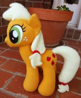 Applejack Plush by MintyStitch