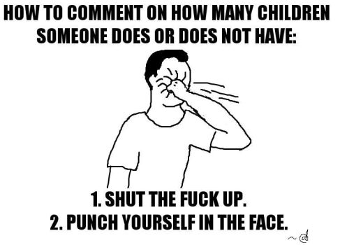 How to Comment on How Many Children... by dolst