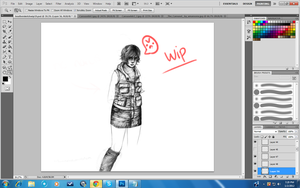 THIS WIP IS PROFESSIONAL by MaidenoftheFlowers